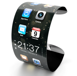 Clock, smartphone, armlet all-in-one